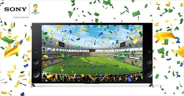 Sony Bravia - официальный спонсор FIFA 2014